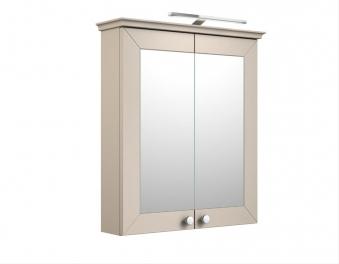 Bad LED Spiegelschrank Siesta 64 Kaschmir grau Bild 1