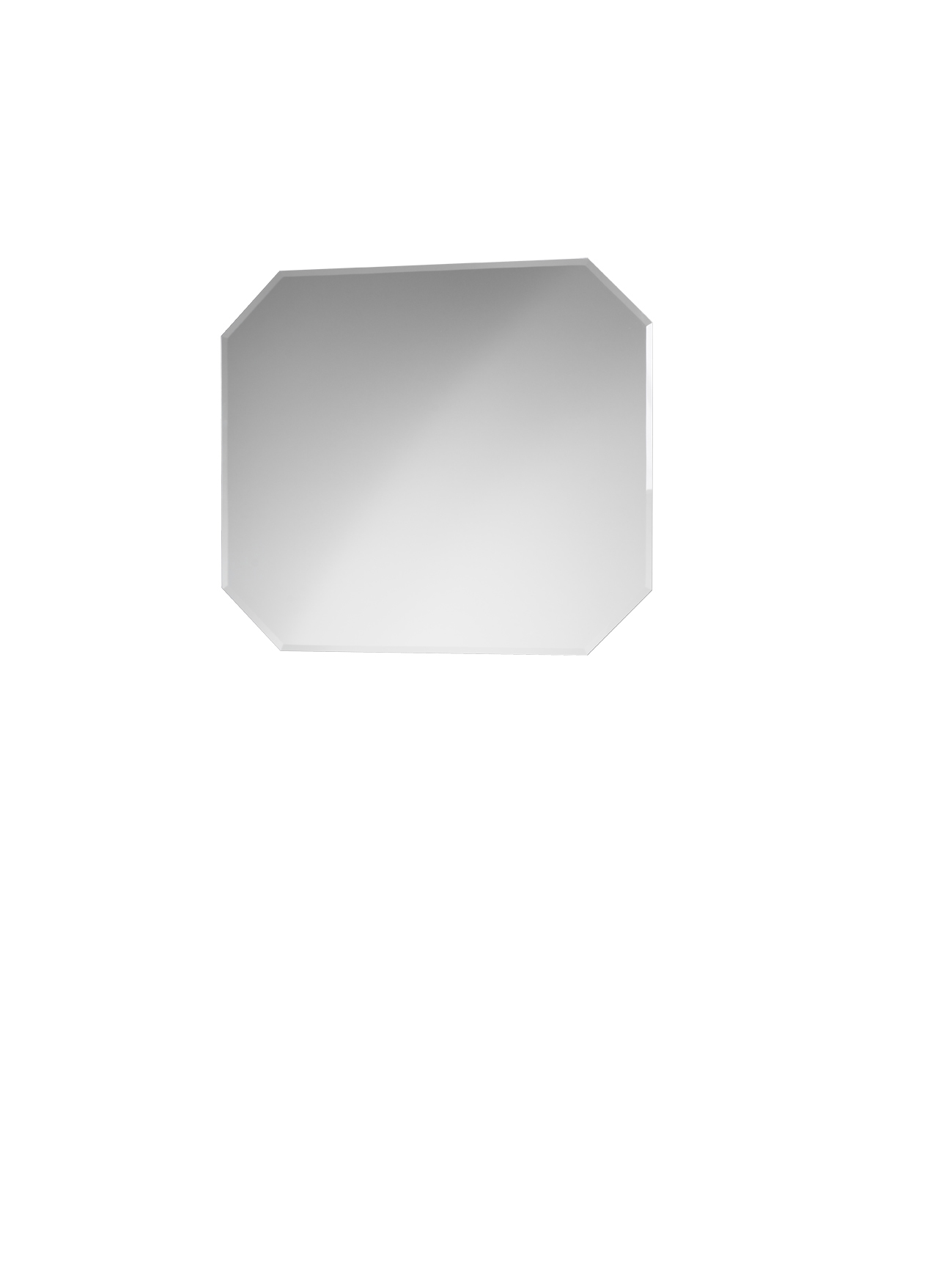 Jokey Facettenspiegel / Kristallspiegel Nelso rechteckig 60x70cm Bild 1