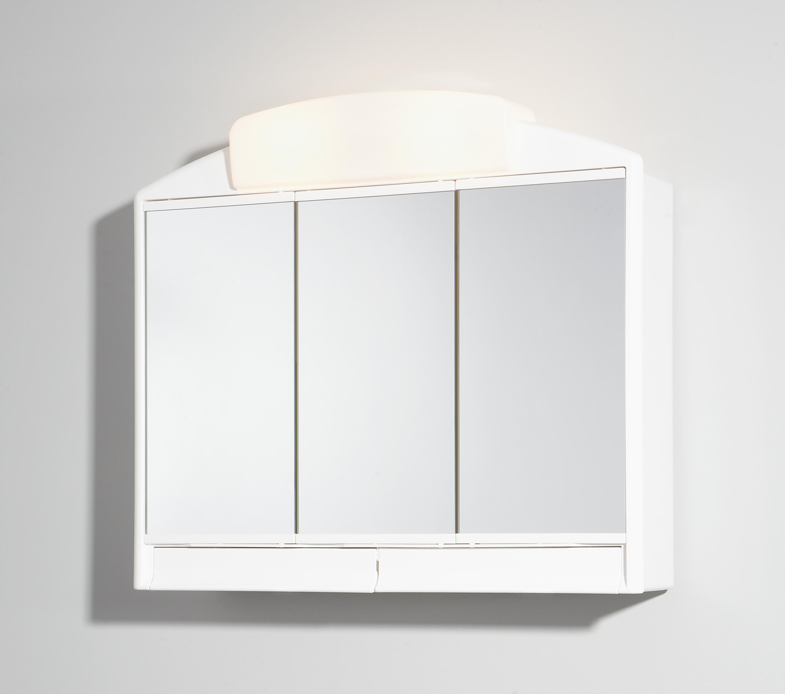 Jokey Spiegelschrank Rano 3-türig weiß 59x51x16cm Bild 1