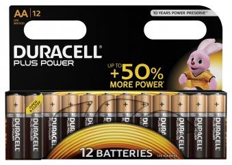 Batterie Duracell MN1500 Plus Power AA LR6 12 Stück Bild 1