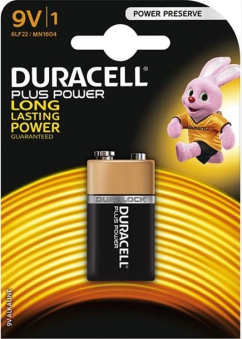 Batterie Plus Power 9V (MN1604/6LF22)B1 Duracell