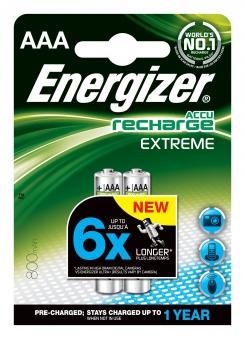Energizer Akku Extreme AAA Micro 800mAh 2 Stück Bild 1
