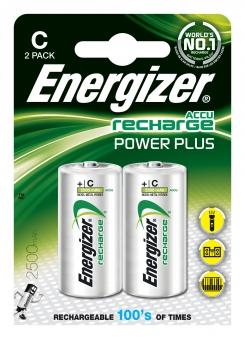 Energizer Akku Power Plus C / Baby 2500mAh 2 Stück Bild 1