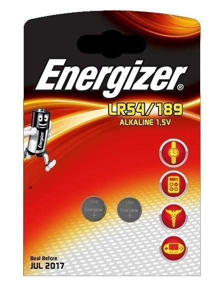 Energizer Knopfzelle Spezialbatterie 189 Alkali Mangan 2 Stück Bild 1