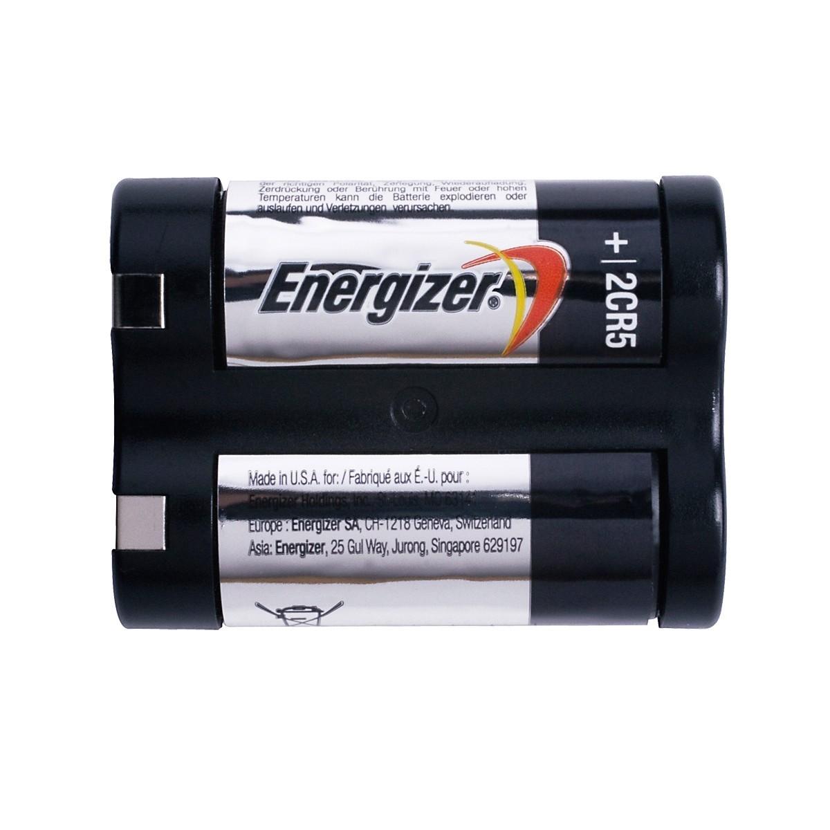 Enerziger Spezialbatterie Fotobatterie 2CR5 2 Stück Bild 2