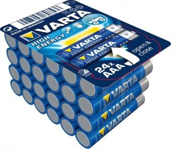 VARTA High Energy AAA 1,5 V 24 Stück Bild 1