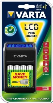 VARTA Ladegerät LCD Plug Charger Bild 1