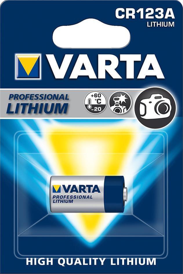 VARTA PHOTO Lithium CR123A 3 V  2 Stück Bild 1