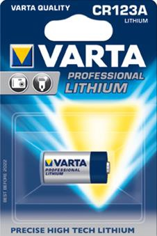VARTA PHOTO Lithium CR123A 3 Volt 1 Stück