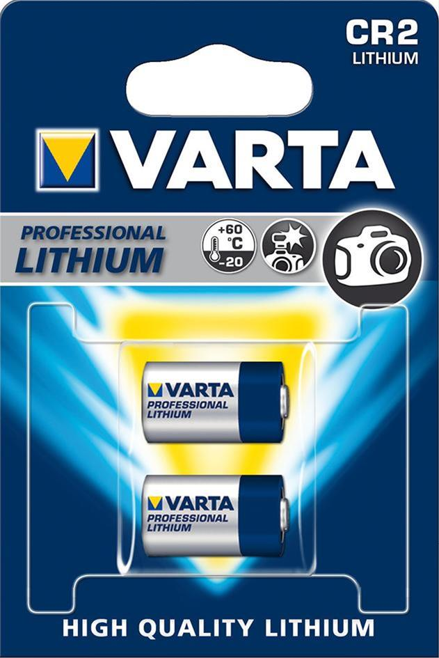 VARTA PHOTO Lithium CR2 3 V 2 Stück Bild 1