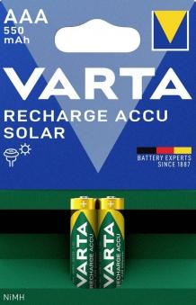 VARTA Solar Akku AAA 1,2 V 2 Stück Bild 1