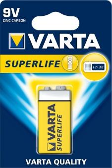 VARTA Super Life 9 V 1 Stück Bild 1