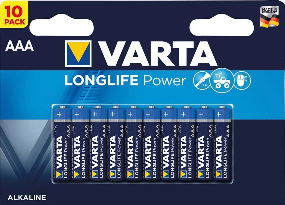 Varta Alkali High Energy AAA 10x Bli Bild 1