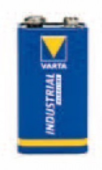 Varta Industrial Batterie 9V Block / Alkalizellen Batterie
