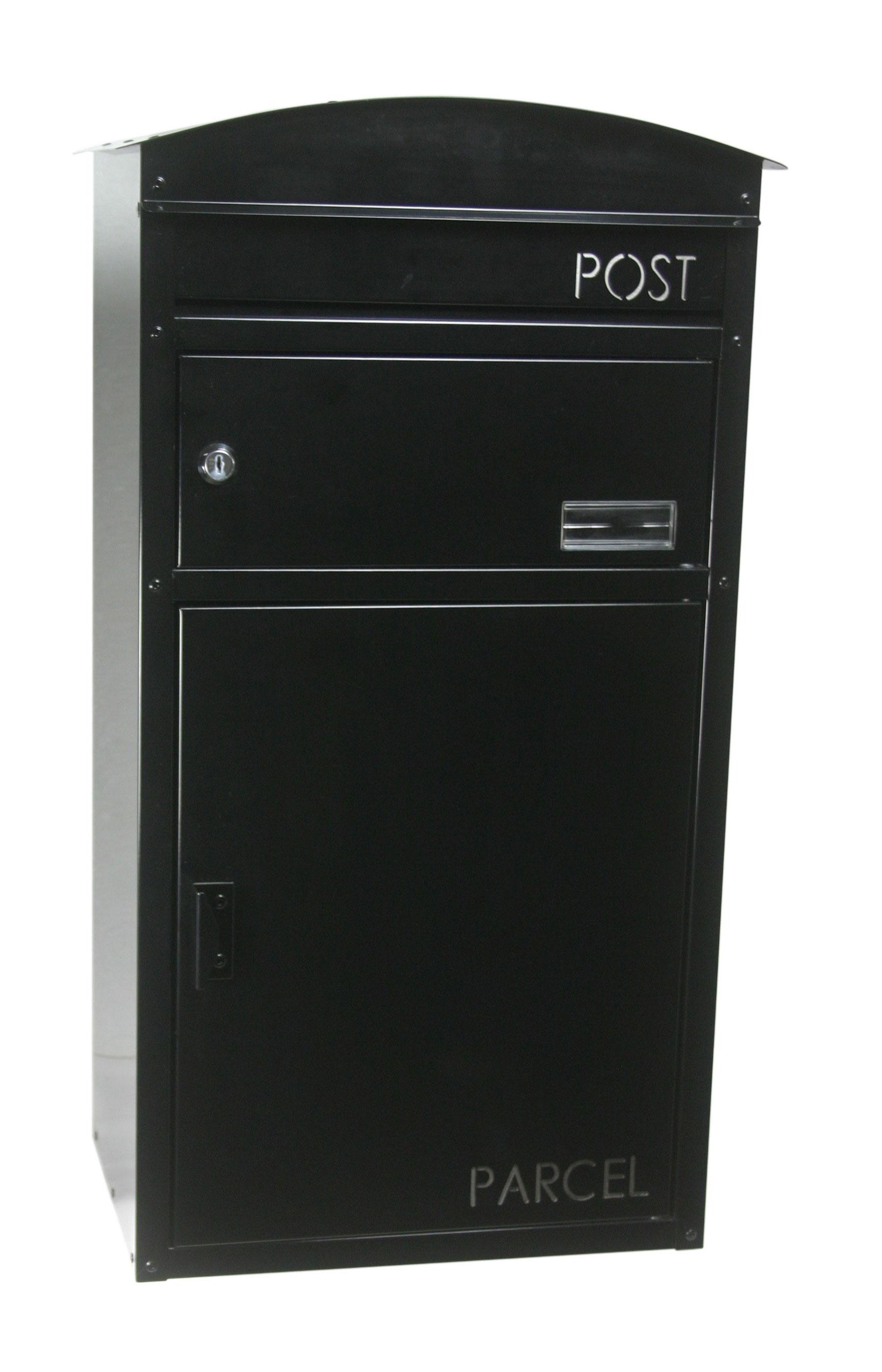 Briefkasten / Paketbriefkasten ScanPro 48 schwarz Bild 1