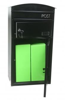 Briefkasten / Paketbriefkasten ScanPro 48 schwarz Bild 2