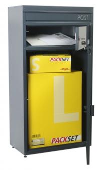 Briefkasten / Paketbriefkasten ScanPro 65 anthrazitgrau Bild 2