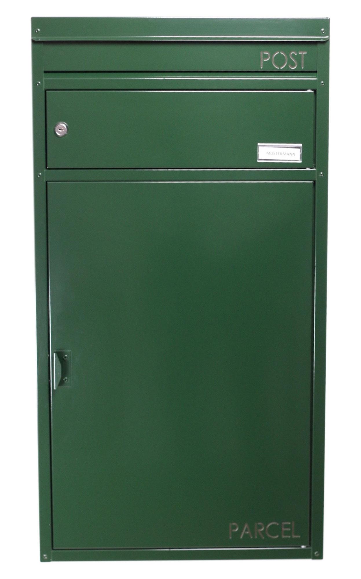 Briefkasten / Paketbriefkasten ScanPro 65 grün Bild 1