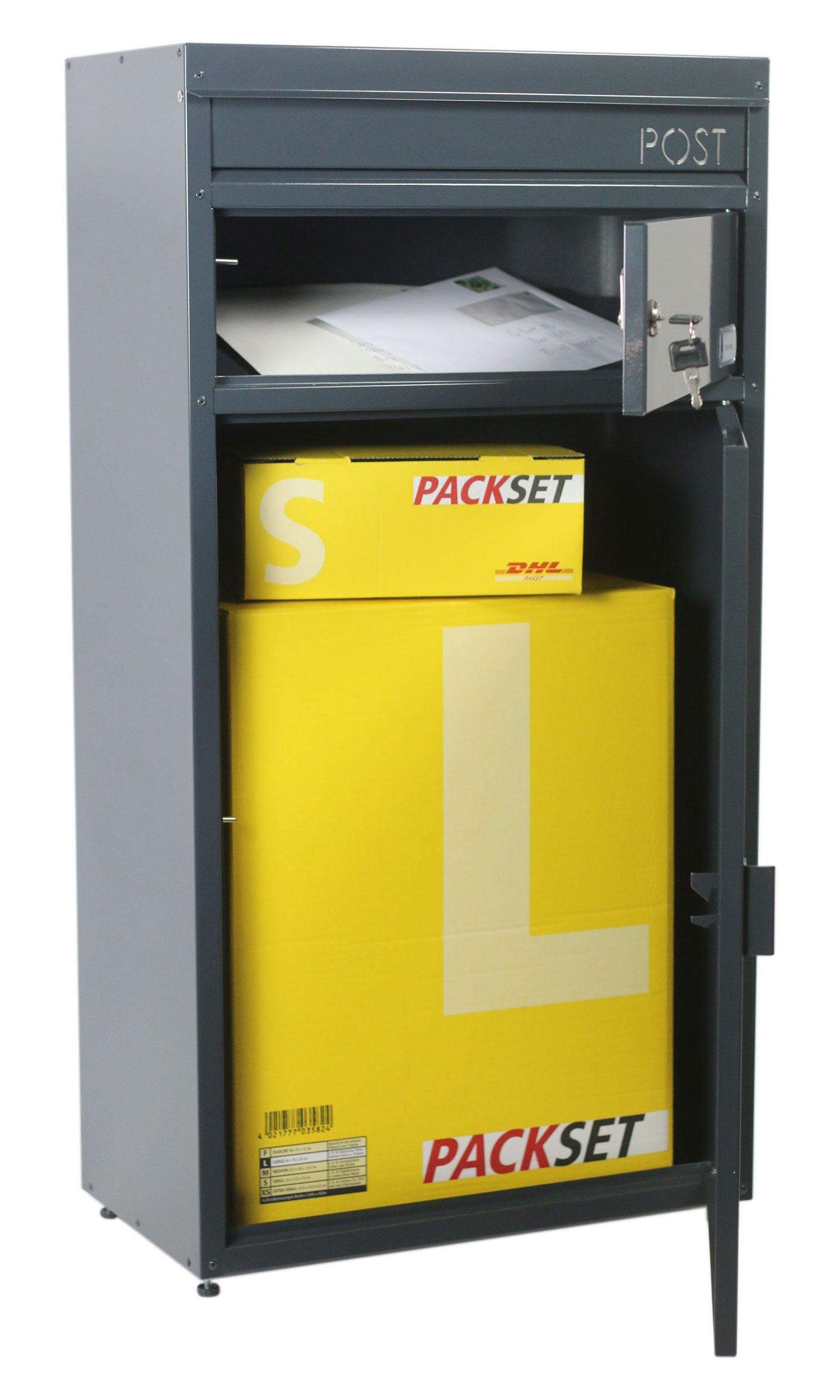 Briefkasten / Paketbriefkasten ScanPro 65 grün Bild 2