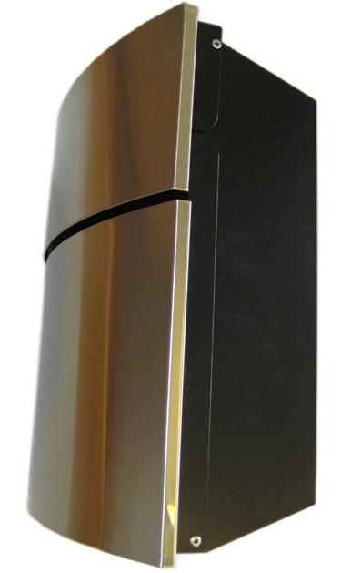 Briefkasten / Postkasten Designer SafePost Größe 12-4 Edelstahl Bild 2
