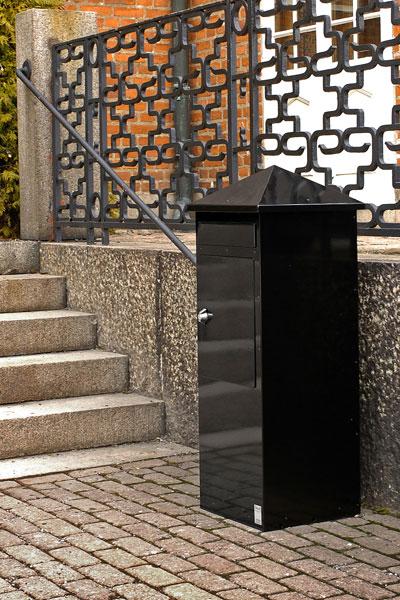 Briefkasten / Postkasten Safe Post Größe 110 schwarz Bild 2