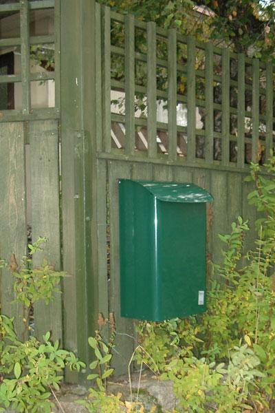 Briefkasten / Postkasten Safe Post Größe 14 racinggreen Bild 2