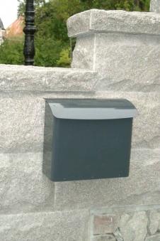 Briefkasten / Postkasten Safe Post Größe 21 anthrazitgrau Bild 2