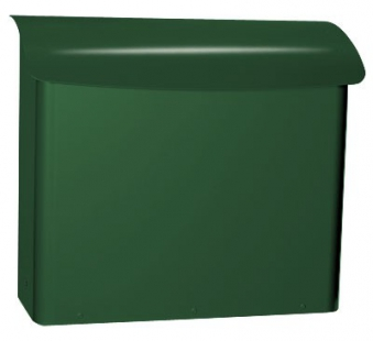 Briefkasten / Postkasten Safe Post Größe 21 racinggreen Bild 1