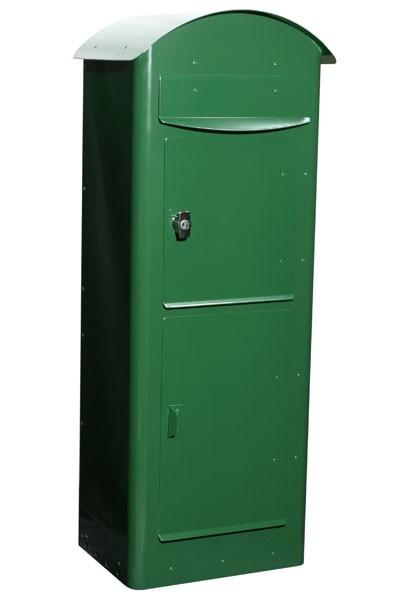 Briefkasten / Postkasten Safe Post Größe 80 racinggreen Bild 1