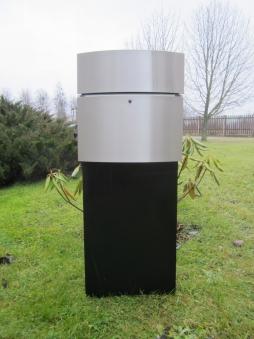 Briefkasten / Postkasten SafePost 12-8 LED Edelstahl Bild 1