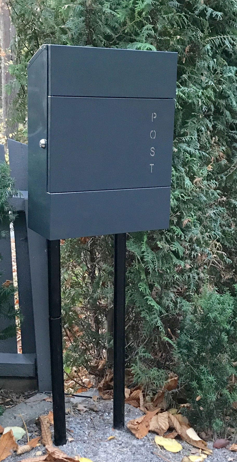 Briefkasten / Postkasten ScanPro 11-9 anthrazitgrau Bild 2
