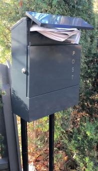 Briefkasten / Postkasten ScanPro 11-9 anthrazitgrau Bild 3