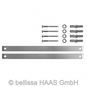 Briefkasten / Steinkorb Gabione Splügen 1 bellissa 44x31x143cm Bild 3