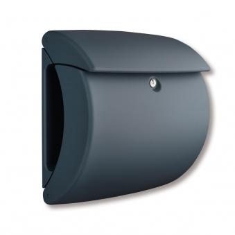 Burg Wächter Briefkasten Pearl Kunststoff granit 400x380x178mm Bild 1