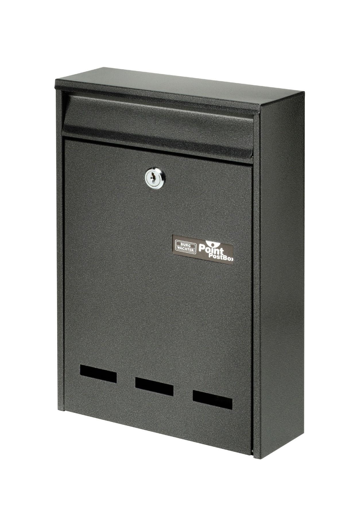 Burg Wächter Briefkasten Pocket alteisen 315x215x75mm Bild 1