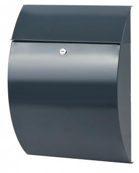 Burg Wächter Briefkasten Rivera Stahl anthrazit 460x335x130mm Bild 1
