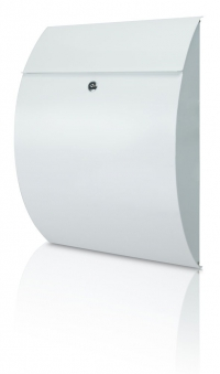 Burg Wächter Briefkasten Rivera Stahl weiß 460x335x130mm Bild 1