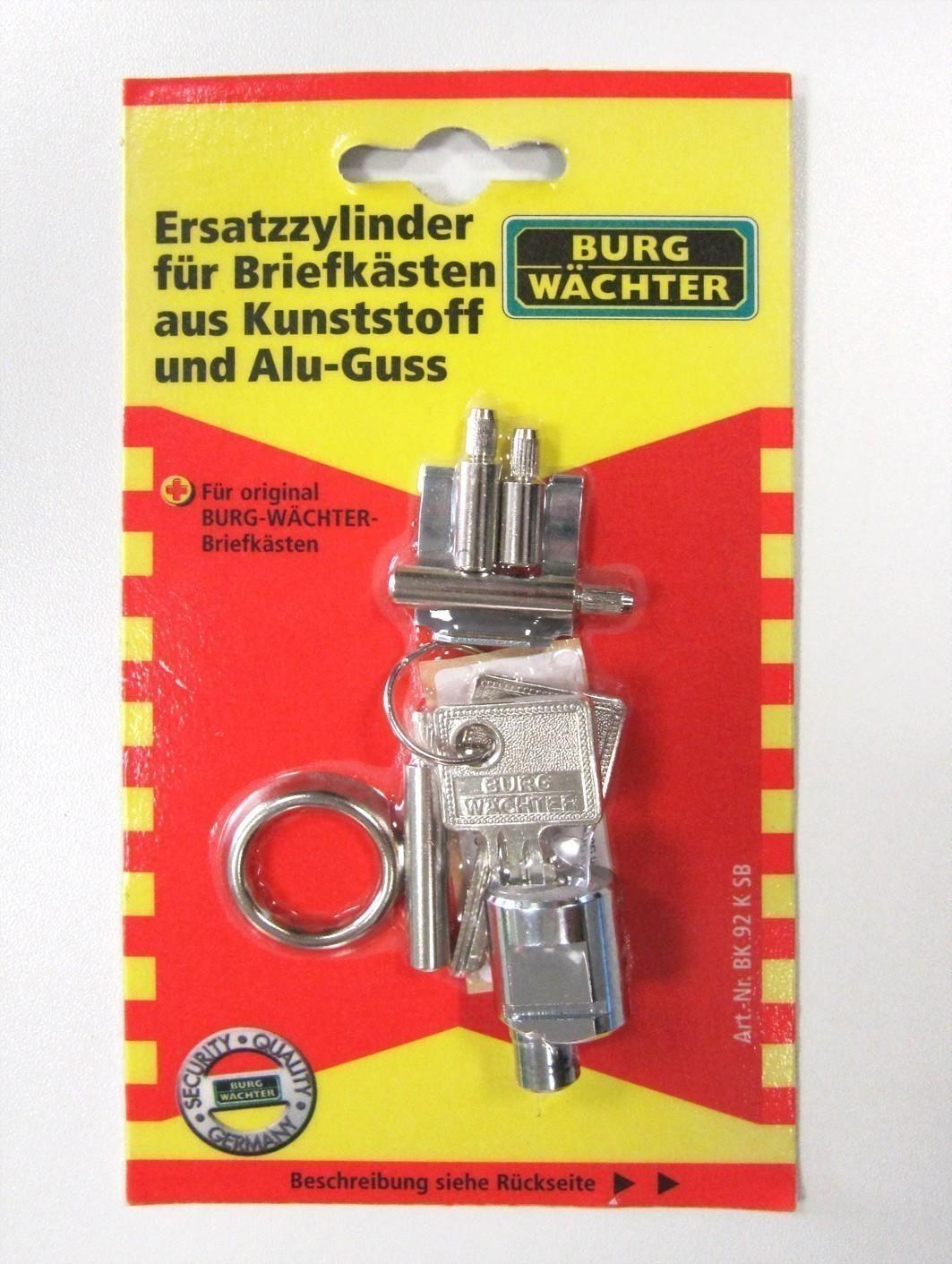 Burg Wächter Ersatz Zylinder BK 92 K Burg Wächter Briefkästen Bild 1