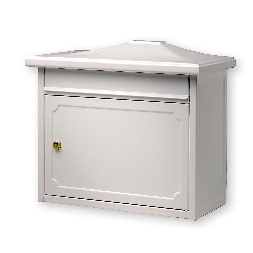 burg w chter briefkasten kopenhagen wei 345x410x205mm bei. Black Bedroom Furniture Sets. Home Design Ideas