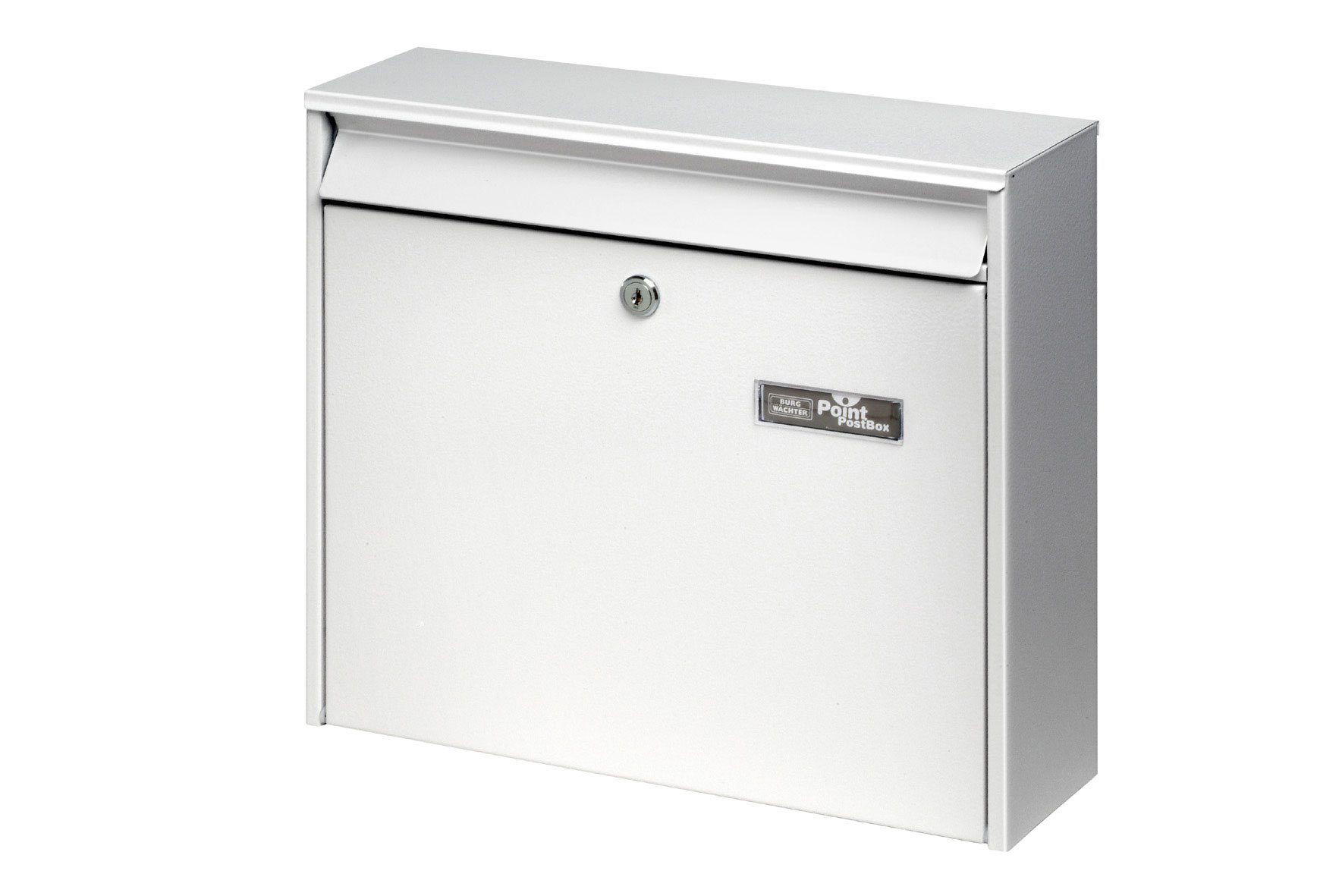 burg w chter briefkasten mail 5877 wei 322x362x100mm bei. Black Bedroom Furniture Sets. Home Design Ideas