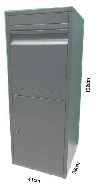 Paketbriefkasten Chic-XL 41x38x102cm Bild 2