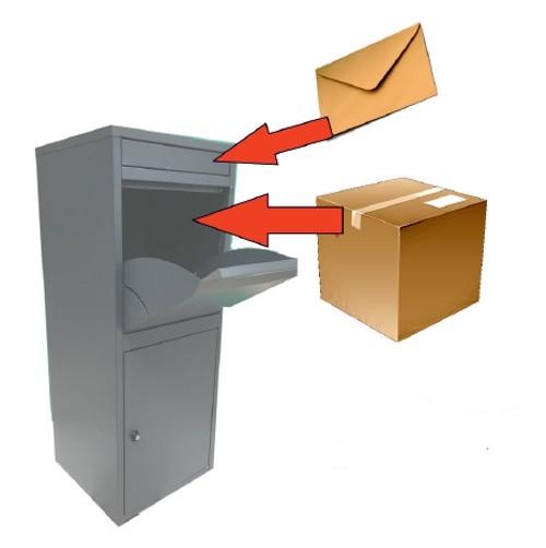 Paketbriefkasten Chic-XL 41x38x102cm Bild 13