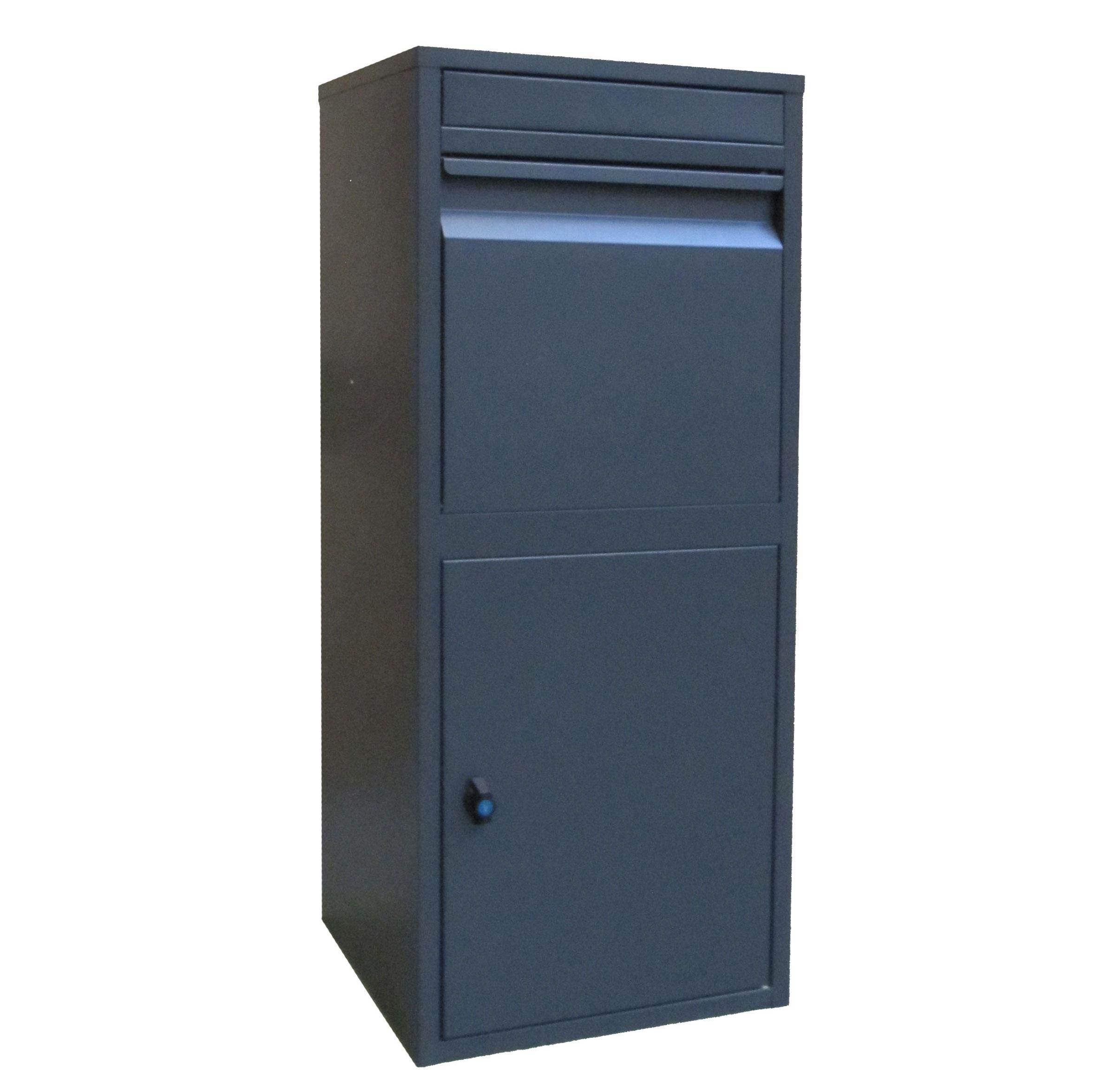 Paketbriefkasten / Paketbox / Paketkasten Chic-XL 41x38x102cm Bild 1