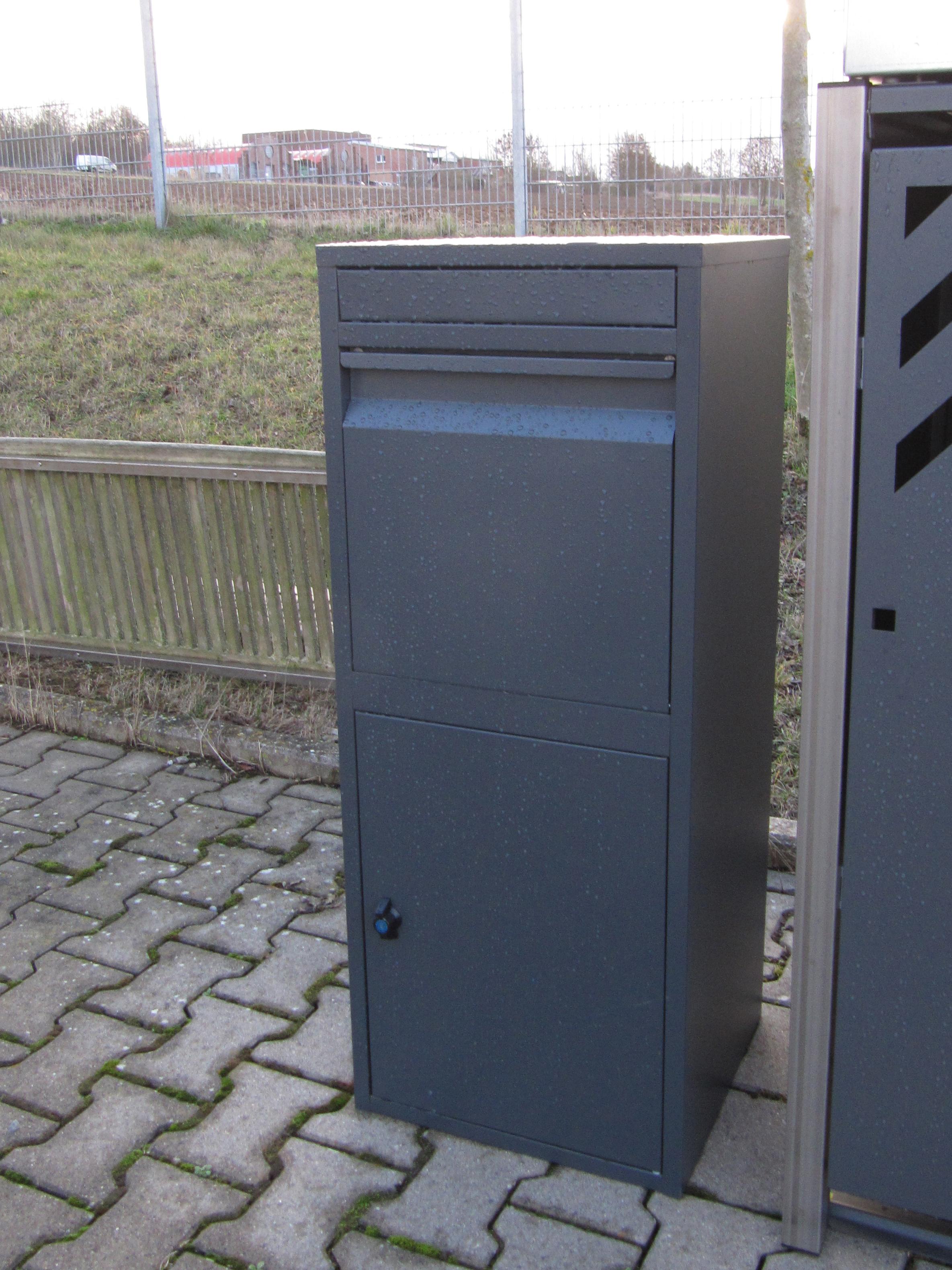 Paketbriefkasten / Paketbox / Paketkasten Chic-XL 41x38x102cm Bild 14