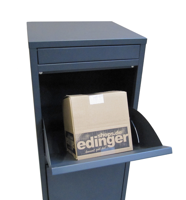 Paketbriefkasten / Paketbox / Paketkasten Chic-XL 41x38x102cm Bild 7