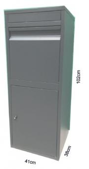 Paketbriefkasten / Paketbox / Paketkasten Chic-XL 41x38x102cm Bild 2