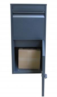 Paketbriefkasten / Paketbox / Paketkasten Chic-XL 41x38x102cm Bild 8