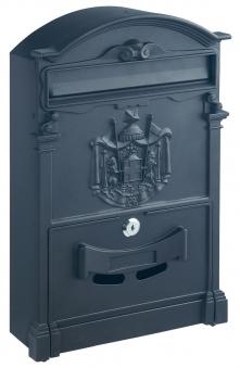 Rottner Briefkasten Ashford schwarz 410x260x90mm Bild 1