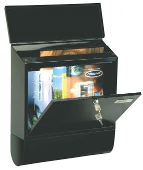 Rottner Briefkasten Villa Spezial anthrazit 420x365x115mm Bild 1