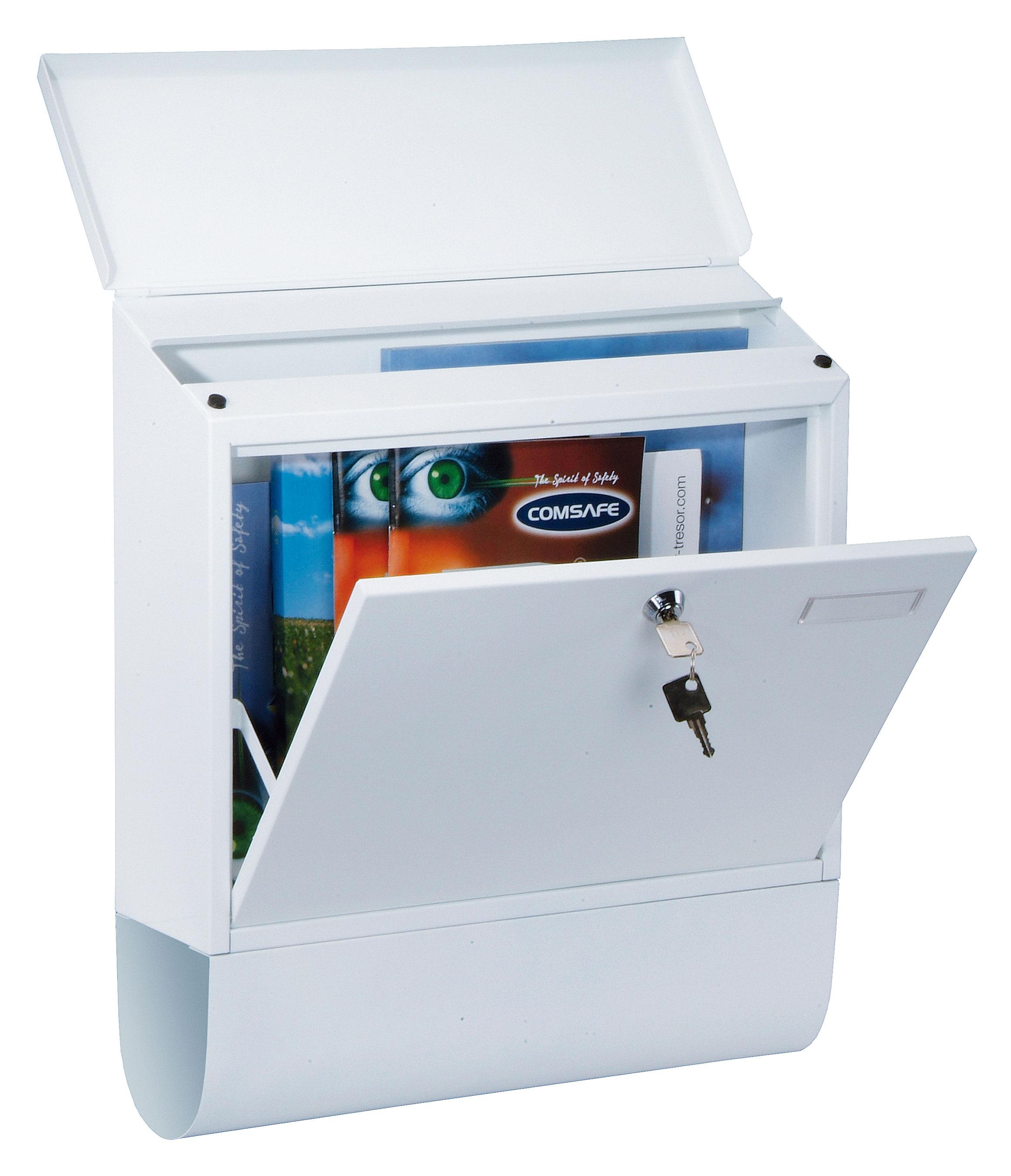 Rottner Briefkasten Villa Spezial weiß 420x365x115mm Bild 1